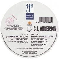 C.J. Anderson - Strange way to love
